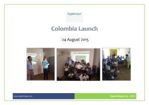 Colombia-Launch-August 2015